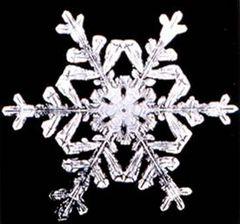 Schneeflocke ca. 2mm Durchmesser